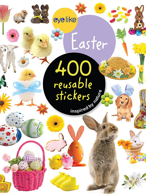 Eyelike Easter 400 Reusable Stickers