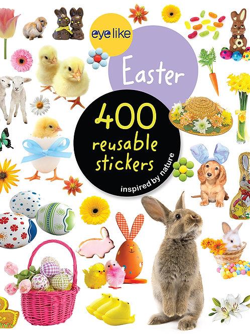 Eyelike Easter 400 Reusable Stickers