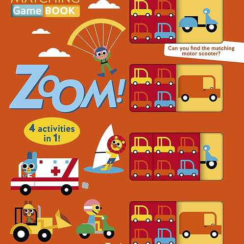 Zoom! Matching Game Book