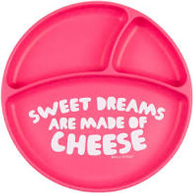 Sweet Dreams Are Made of Cheese Divided Plate