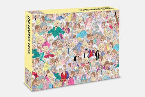 500 Piece Golden Girls Jigsaw Puzzle