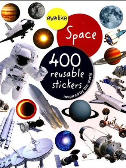Eyelike Space 400 Reusable Stickers