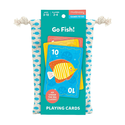 Go Fish Playing Cards to Go