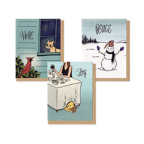 Holiday Mischief Greeting Cards