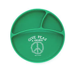 Give Peas A Chance Divided Plate