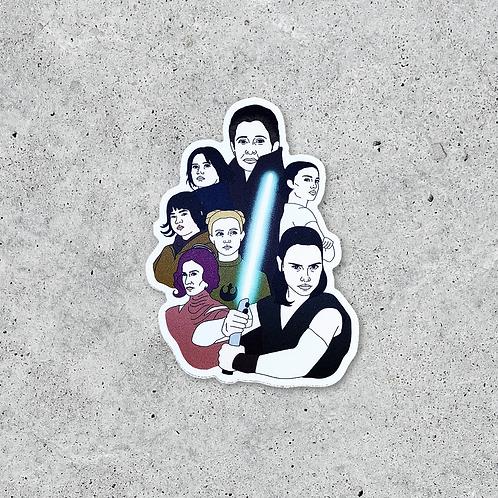 Women of The Galaxy Sticker