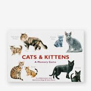 Cat & Kittens Memory Game