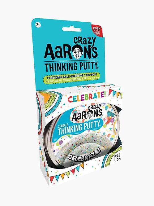 "Celebrate Sparkling Thinking Putty 4"""