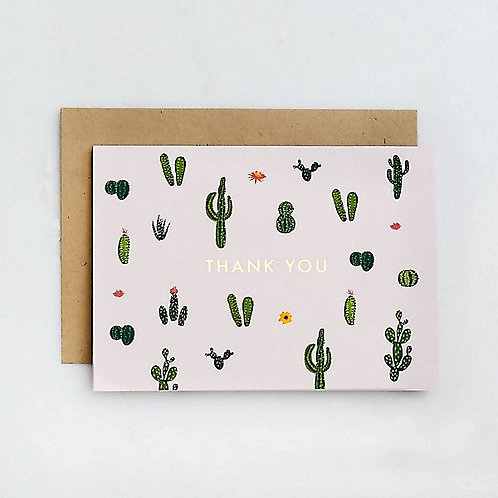 Cacti Thank You Cards & Envelopes