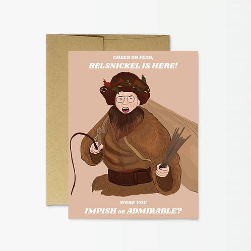 Belsnickel Greeting Card