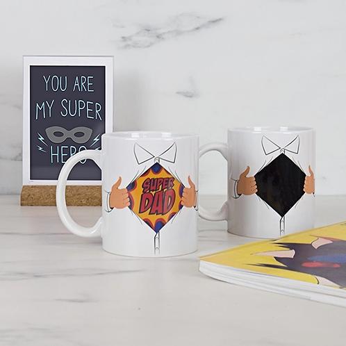 Super Dad Heat Reveal Mug