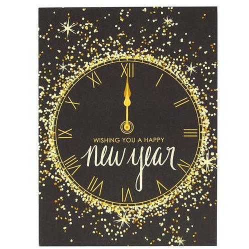 Wishing You Happy New Year Greeting Card