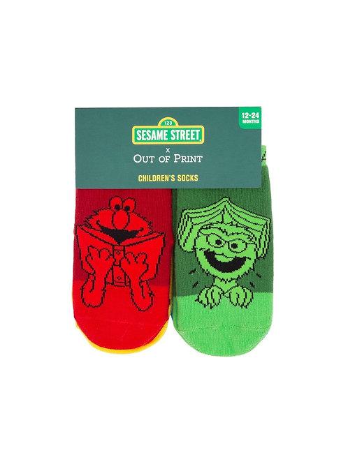Sesame Street 4-Pack Socks