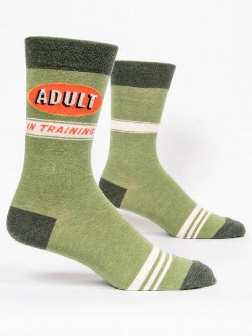Men's Adult in Training Crew Sock