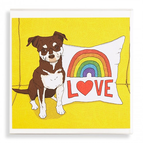 Dogs to Love Square Set