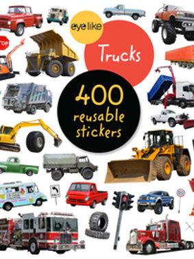 Eyelike Trucks 400 Reusable Stickers