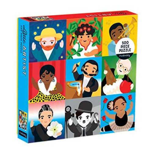 500 Piece Little Artists Puzzle