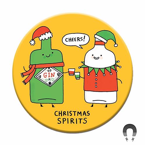 Christmas Spirit Magnet