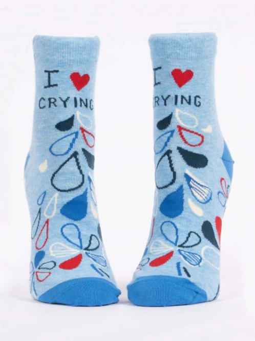 I Love Crying Women's Ankle Sock