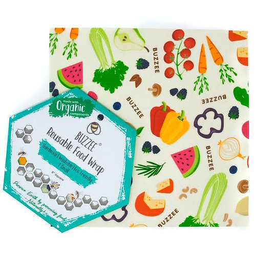 Buzzee Reusable Food Wrap Singles