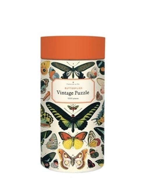 1000 Piece Vintage Butterflies Puzzle
