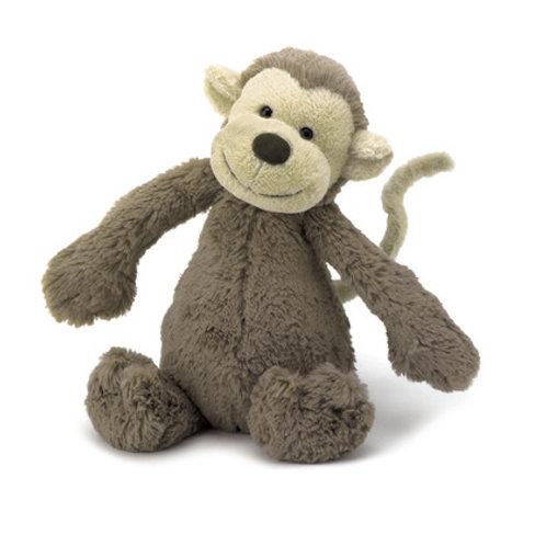 Bashful Monkey Small 7""