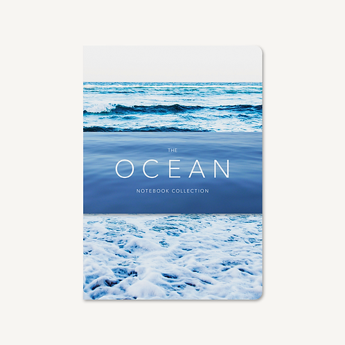 The Ocean Notebook Collection of 3