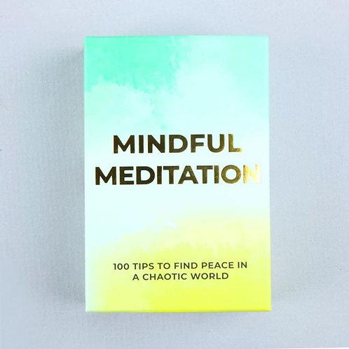 Mindful Meditation Cards