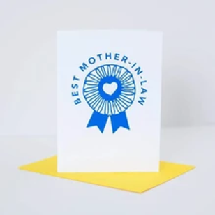 Best Mother-In-Law Greeting Card