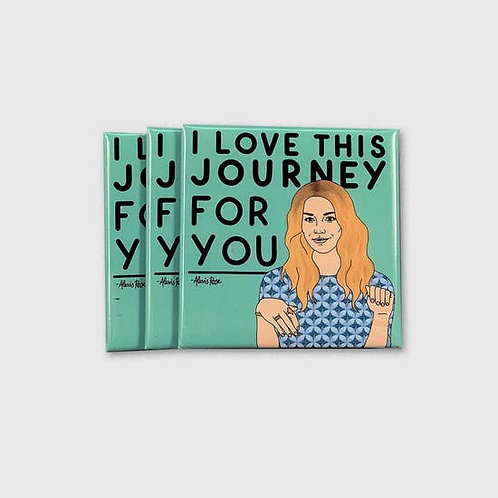 Alexis I love This Journey Magnet