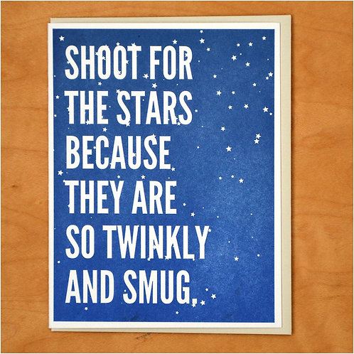Shoot for the Stars Greeting Card