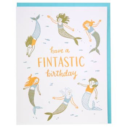 Have a Fintastic Birthday Card