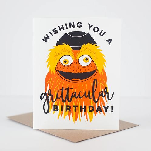 Grittacular Birthday Greeting Card