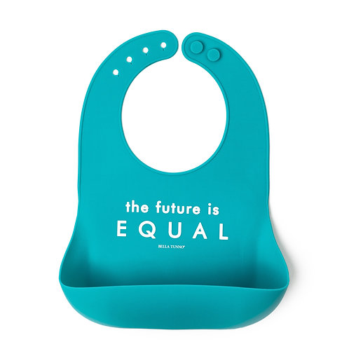 The Future is Equal Wonder Bib