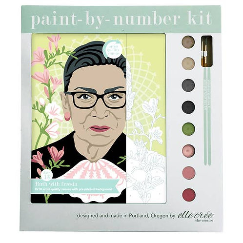 Paint by Number Ruth Bader Ginsberg