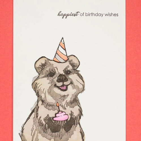 Happiest Of Birthday Wishes Greeting Card
