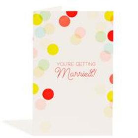 Wedding Confetti Card