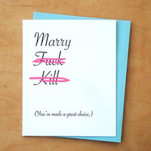 You've Made A Great Choice Greeting Card