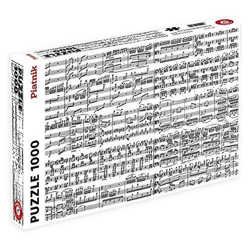1000 Piece Piatnik Music Note Puzzle