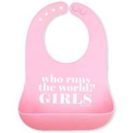 Who Runs the World Girls Wonder Bib