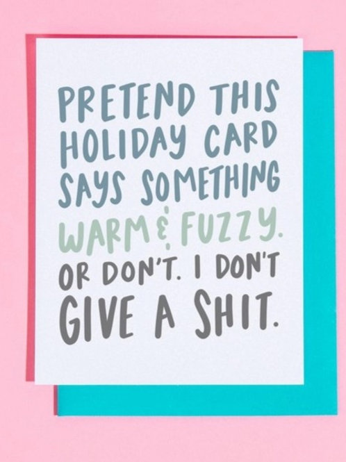 Warm and Fuzzy Greeting Card