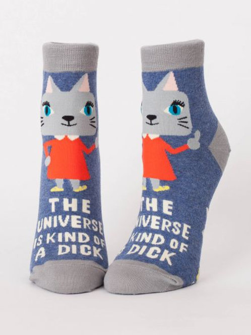 Women's The Universe Is Kind Of A Dick Ankle Sock