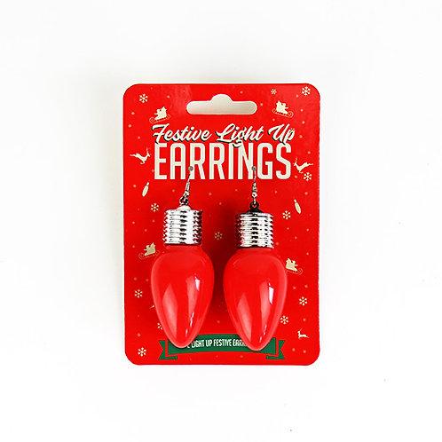 Festive Light Up Earrings