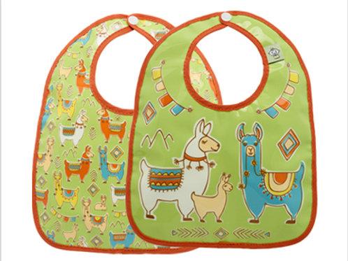 Mama Llama Bib Set of 2