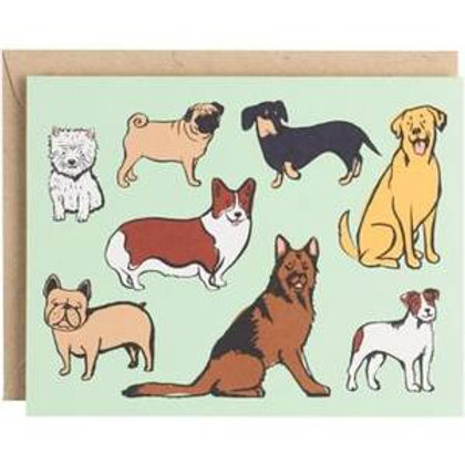 Dogs Cards & Envelopes