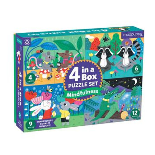 4 In A Box Puzzle Set Mindfulness