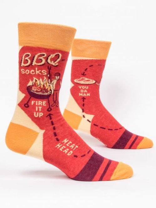 Men's BBQ Crew Sock