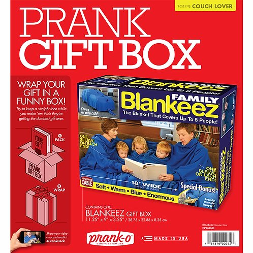 Blankeez Prank Box