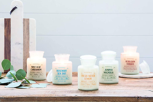 Farmhouse Glass Jar Candles