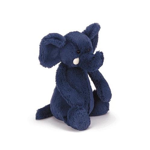 """Bashful Blue Elephant Medium 12"""""""
